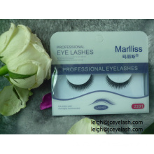 Natural False Strip Eyelashes private label